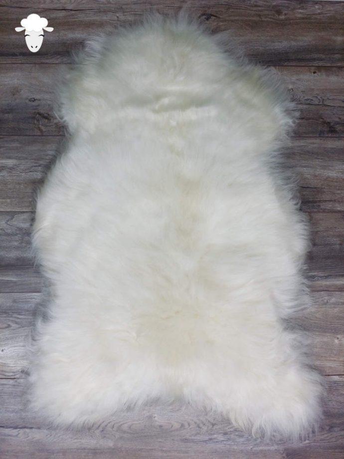 Schapenvacht IJslands Wit (Vloerkleed)