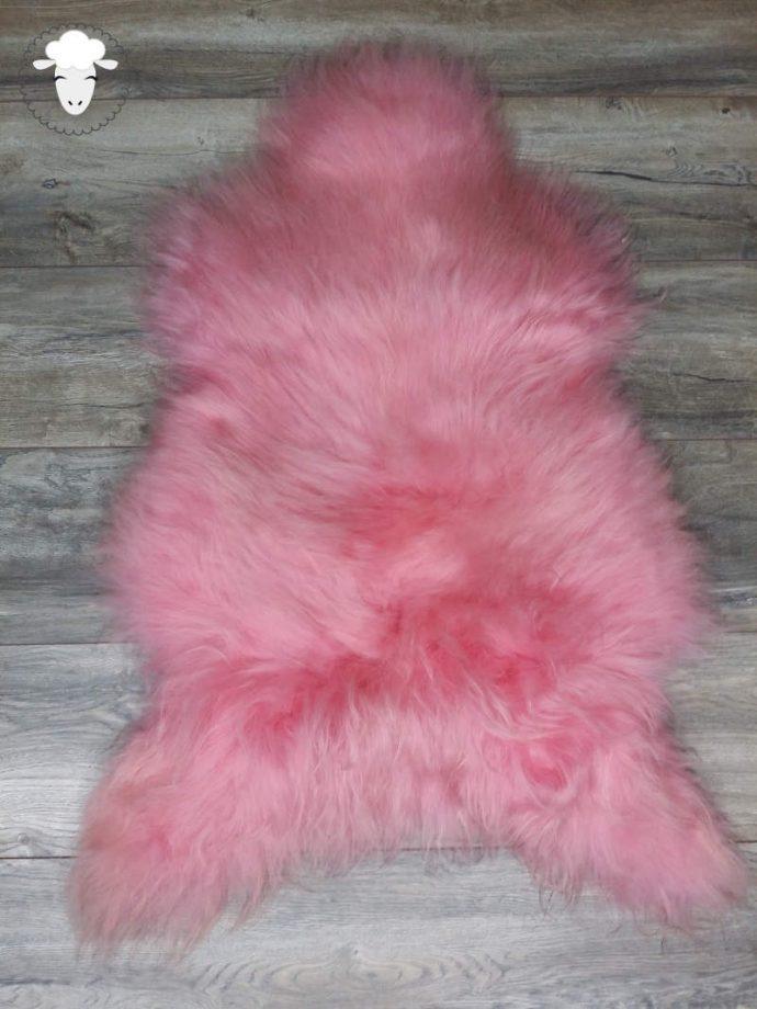 Schapenvacht Roze (Vloerkleed)