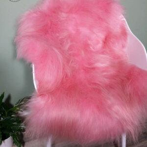 Schapenvacht Roze XL
